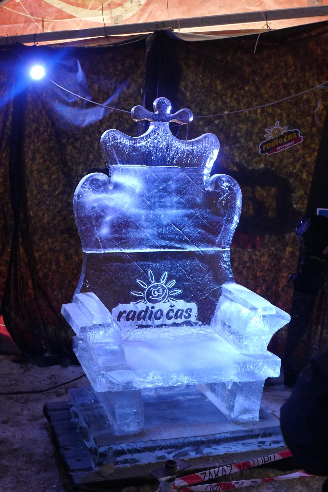Ice Sculptures in CzechRepublic